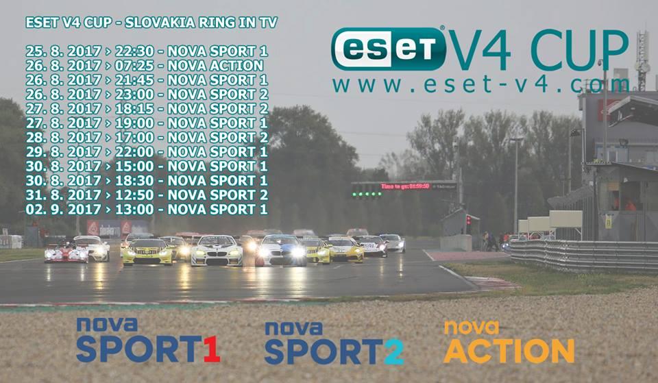 Programový přehled magazínu ESET V4 Cup ze Slovakia Ringu