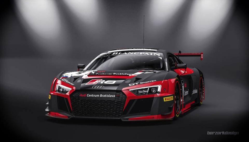 Na evropskou závodní scénu vstupuje Audi Sports Team Slovakia