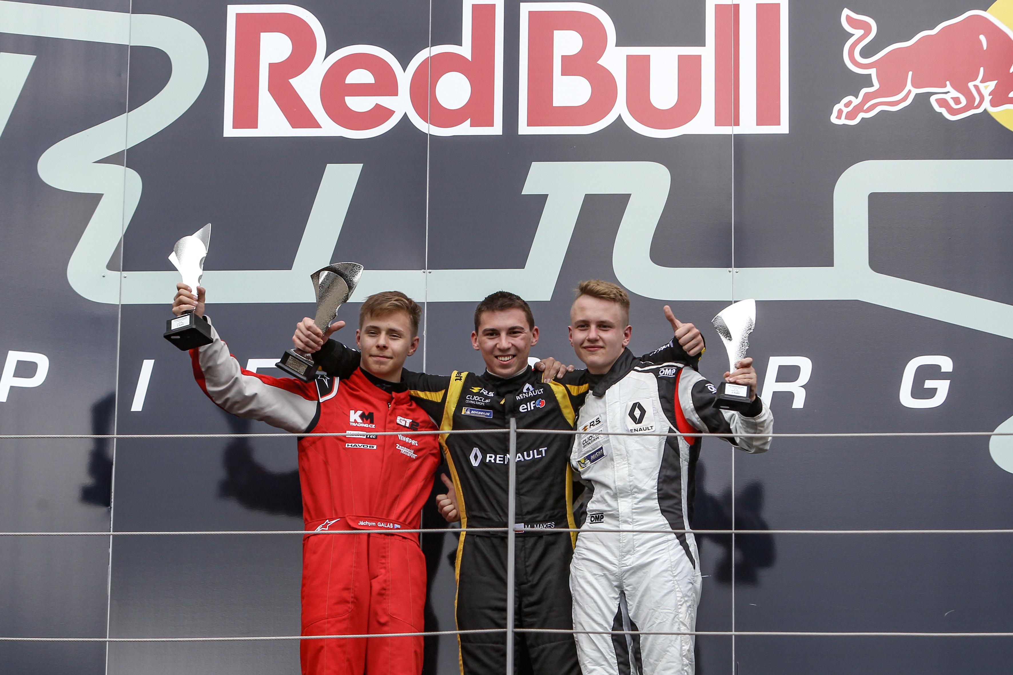 Michal Makeš zahájil víkend na Red Bull Ringu dalším vítězstvím