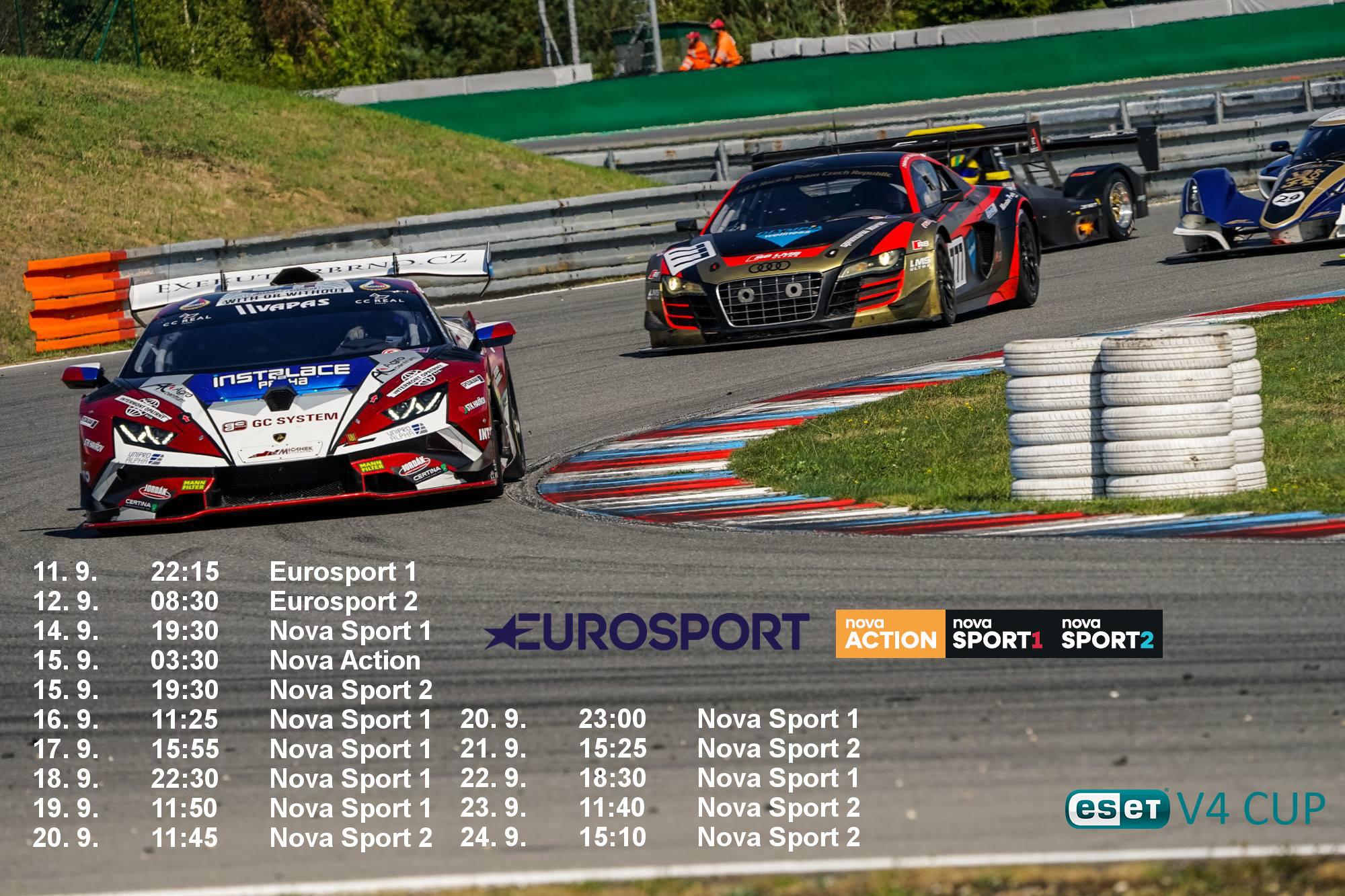 Televizní reportáž z Brna můžete sledovat už zítra na stanici Eurosport 1