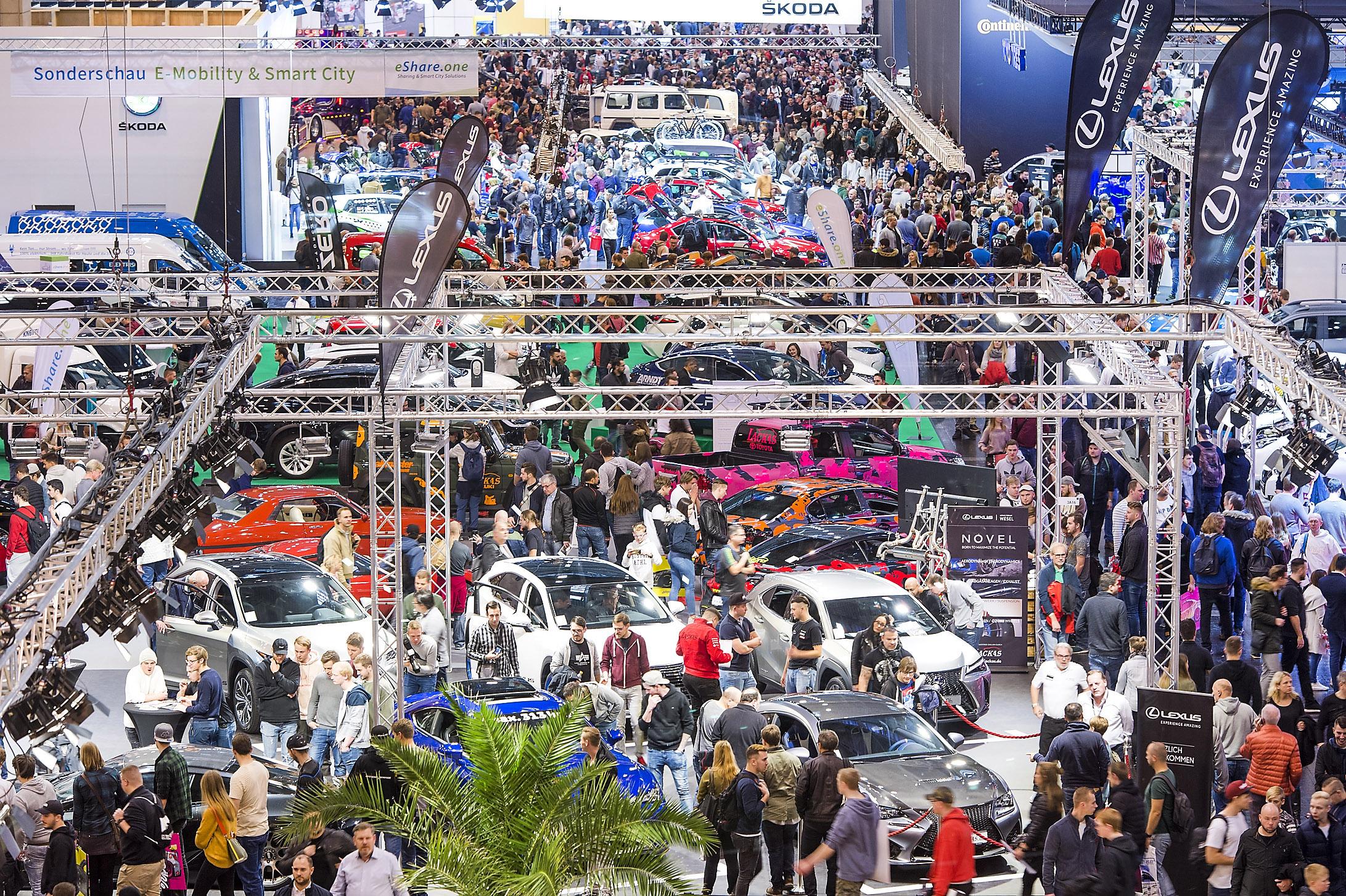 Česká stopa na výstavě Essen Motor Show