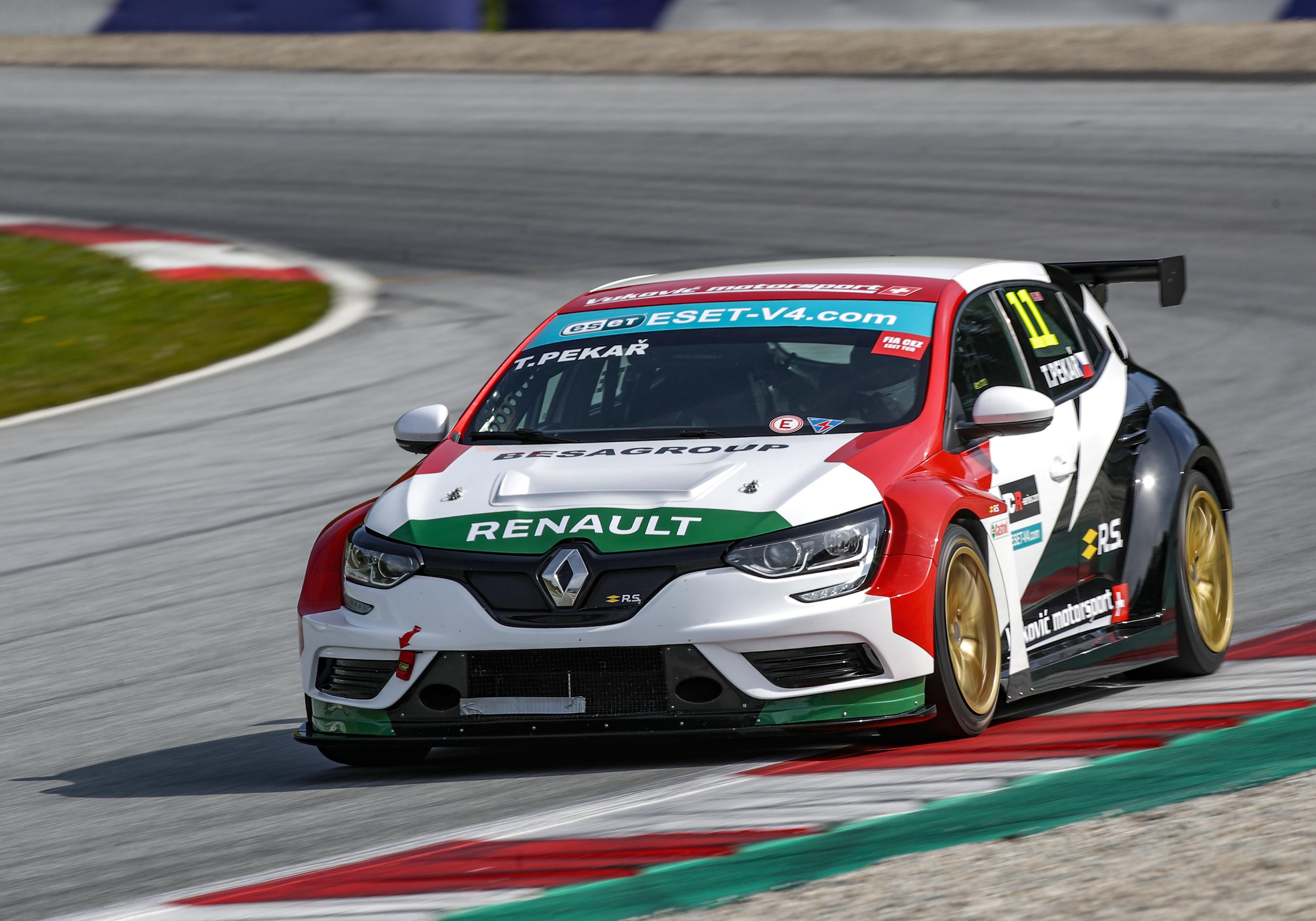 Dramatický závod ESET TCR vyhrál Tomáš Pekař