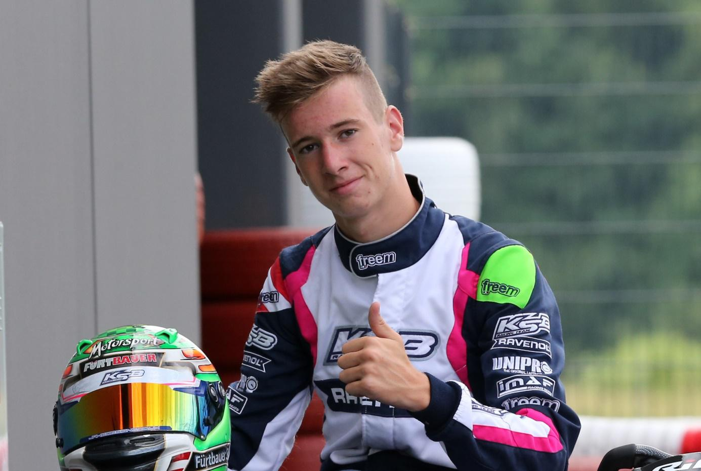 From karts to F4, Stefan Fürtbauer is enjoying his debut season