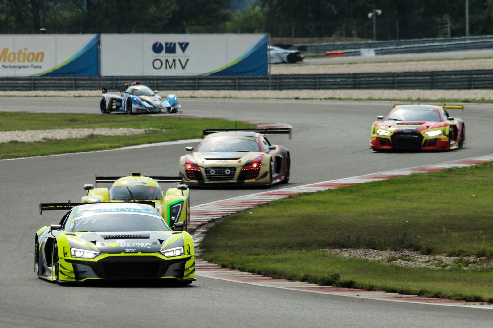 Nedělní GT Sprint ovládl Jedlinski