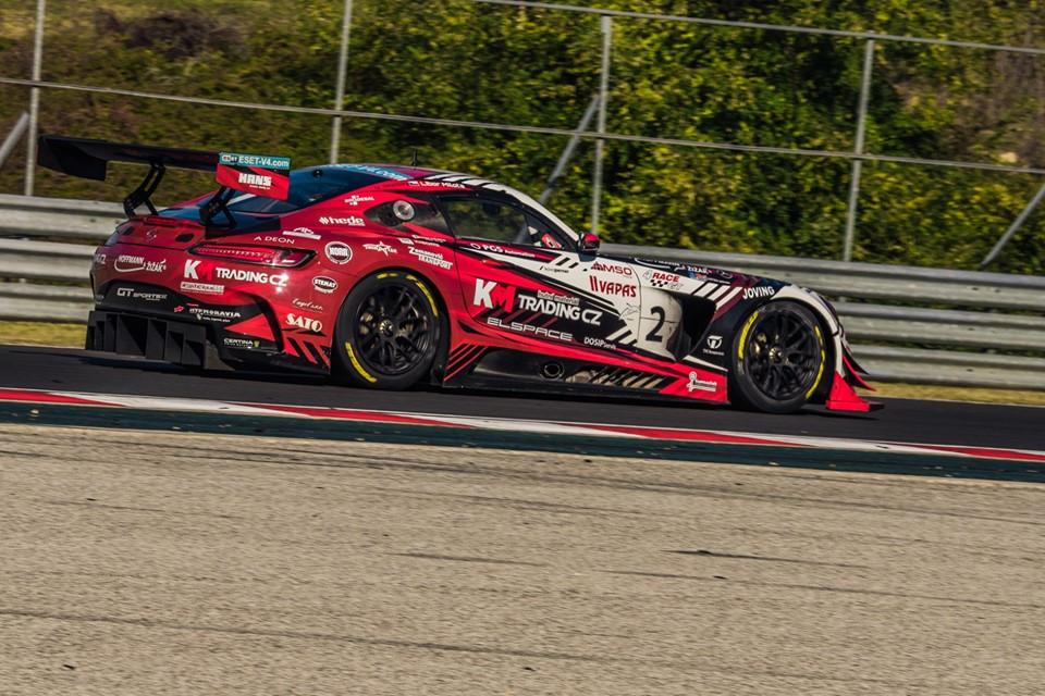 V GT sprintu zakončil sezonu vítězně Milota