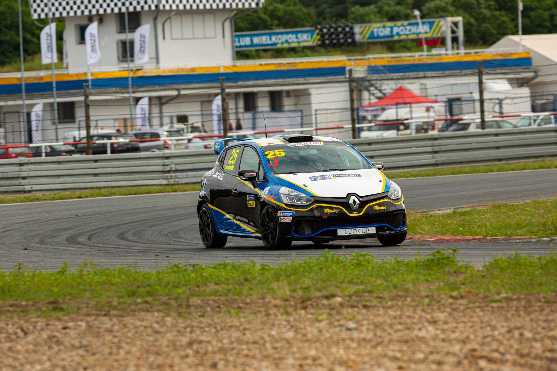 Sandström posílí startovní rošt Clio Cupu