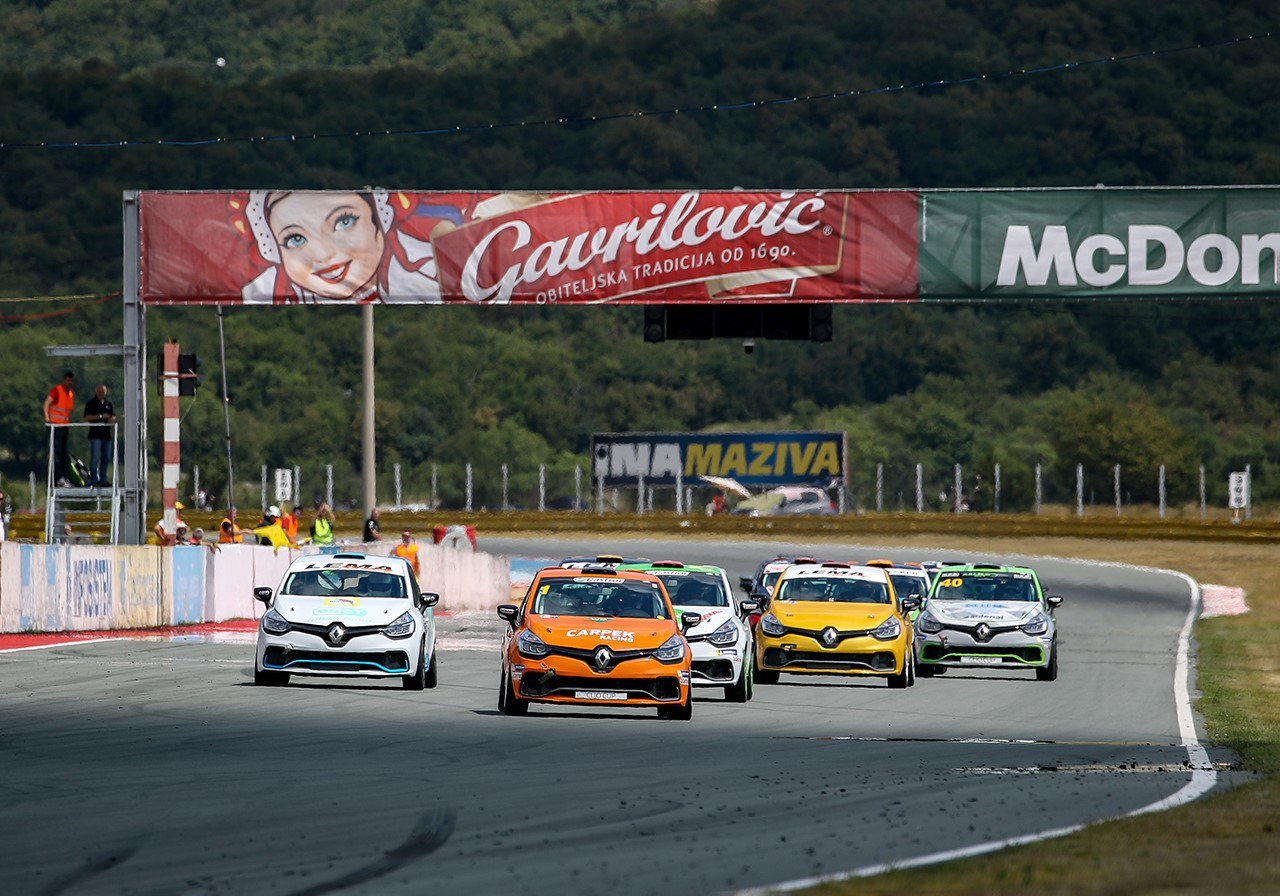 Clio Cup grid is looming