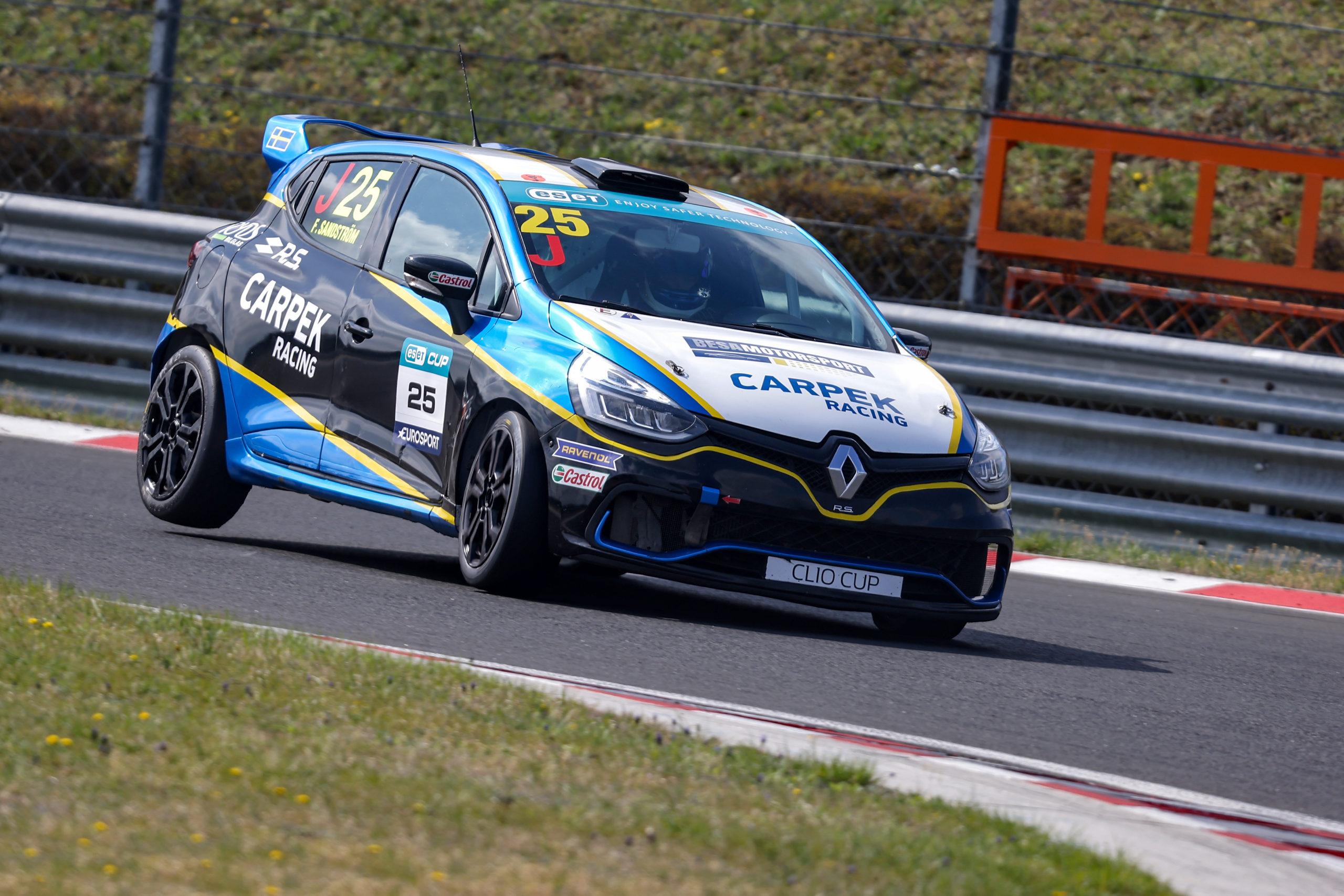 Sandströmova vítězná série pokračovala i ve druhém závodě