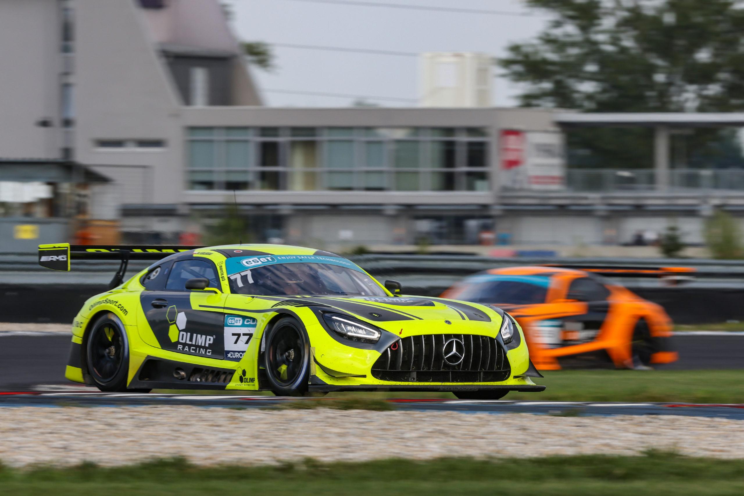 Jedlinski si zajistil titul šampiona GT3 sprintu