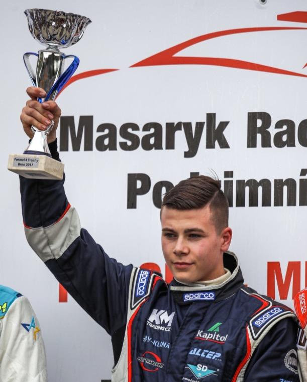 V Brně byl můj úplně nejlepší závod ze všech, říká šampion F4 Václav Šafář