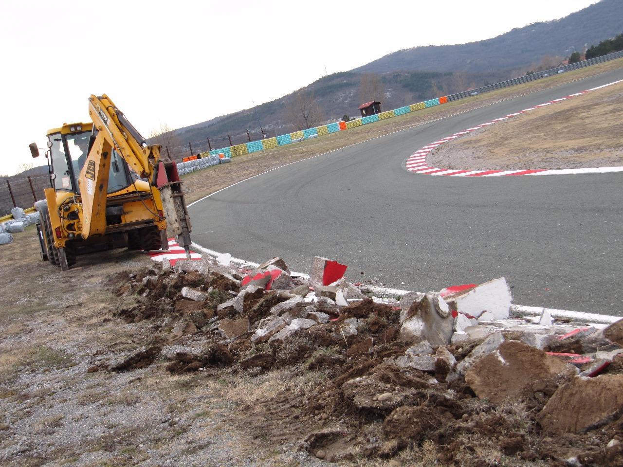Na Automotodromu Grobnik začala rekonstrukce