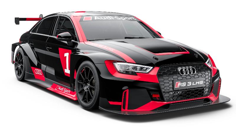 Tým Křenek Motorsport nastoupí do sezóny 2018 s novým AUDI RS 3 LMS