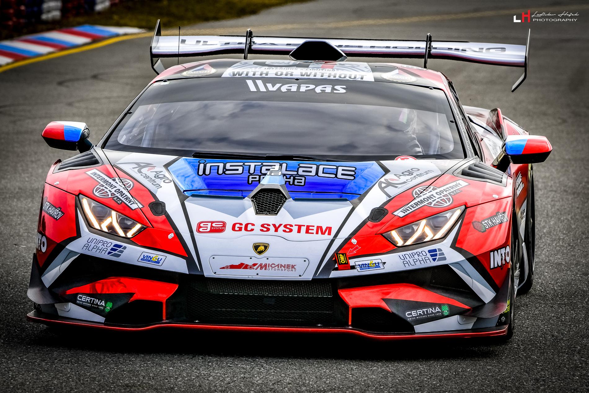 Mičánek Motorsport se připravuje na sezonu s novým Lamborghini Huracan