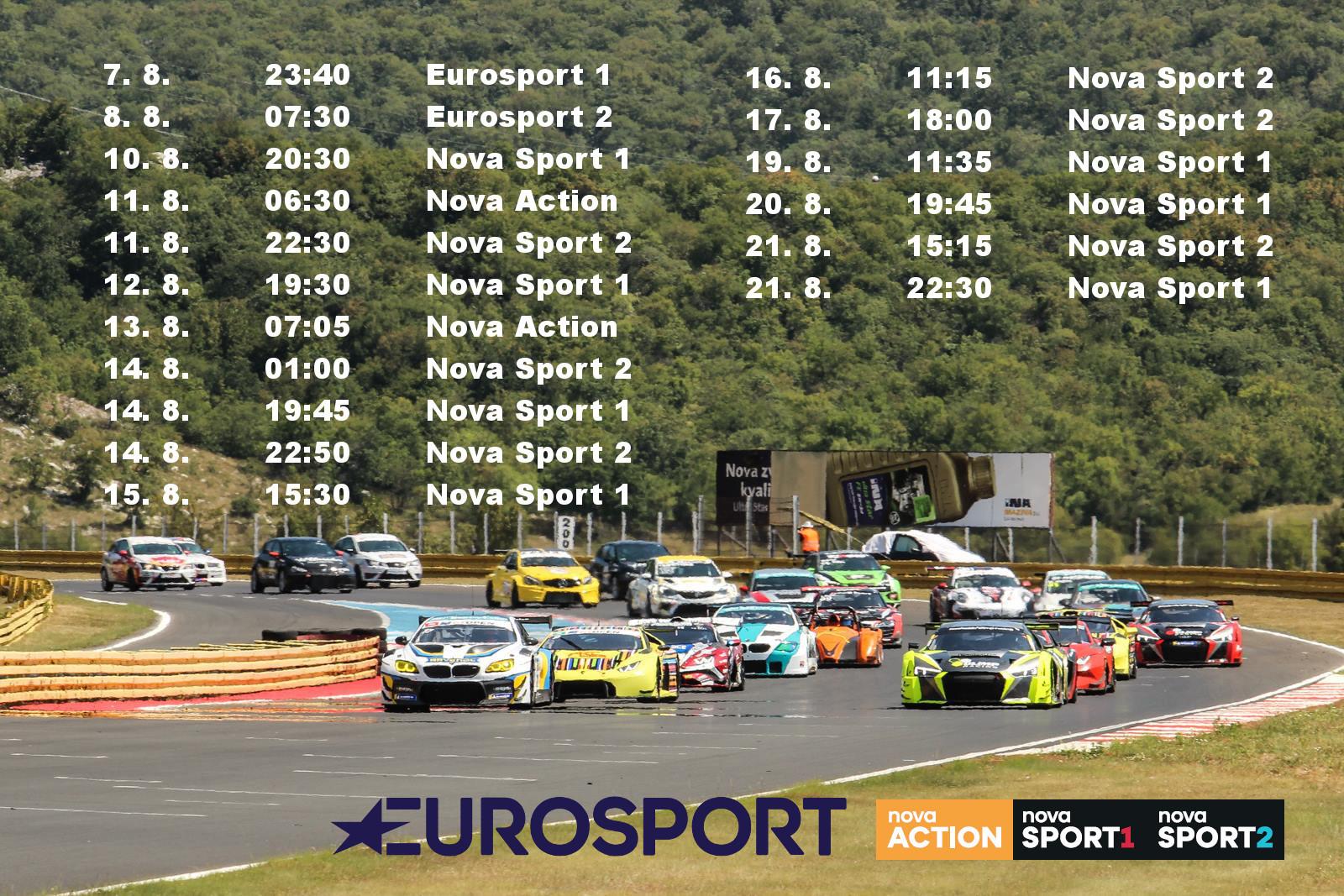 Televizní reportáž z Grobniku můžete sledovat už dnes na stanici Eurosport 1