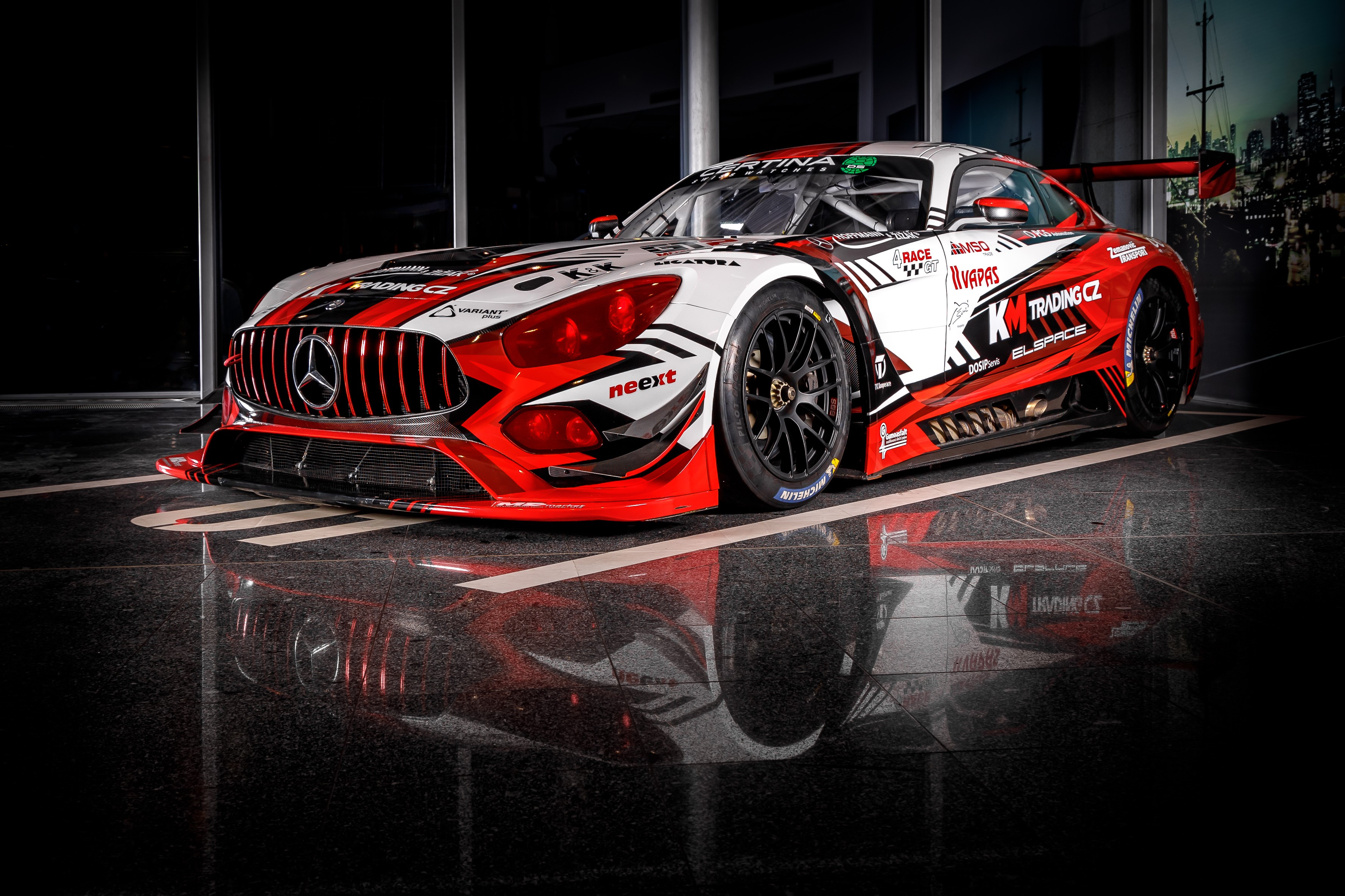Nová výzva s Mercedesem