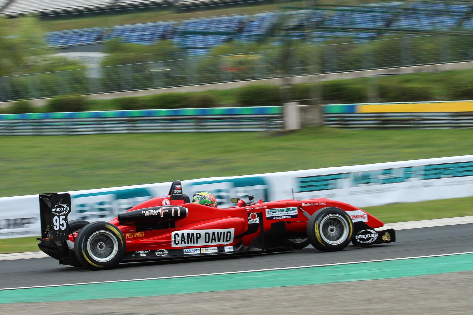 Tom Beckhäuser wins at Hungaroring