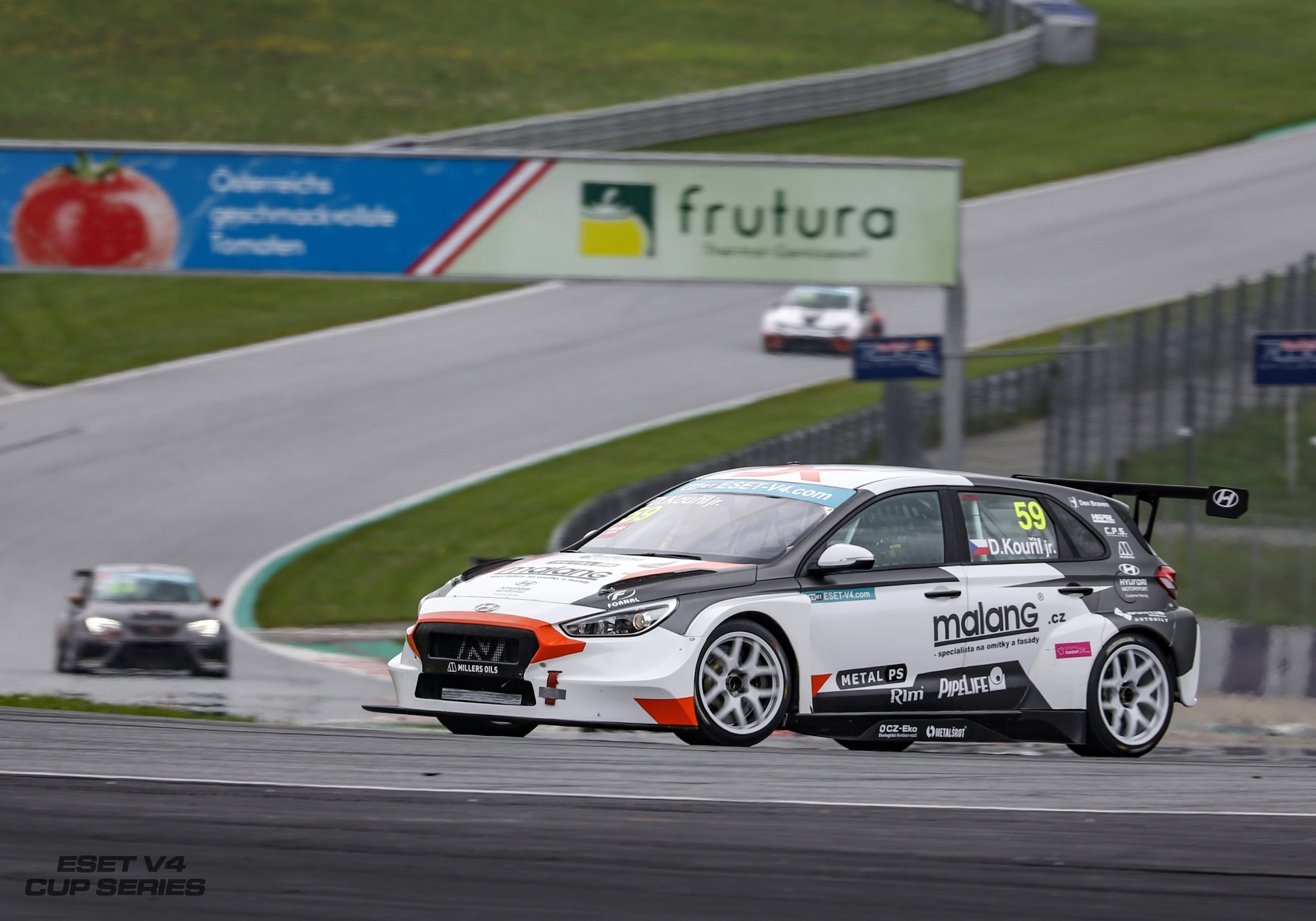Nervousness, but a great result – Dušan Kouřil jr. on his TCR debut