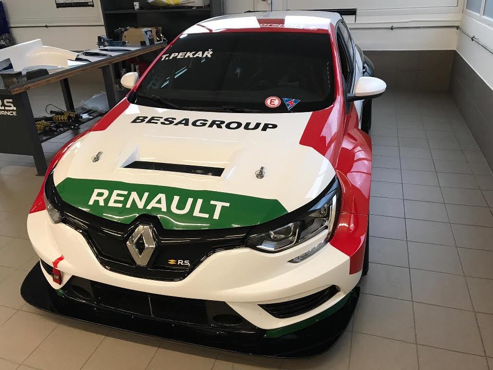 Tomáš Pekař a Franjo Kovac míří s Renaultem Megane do TCR