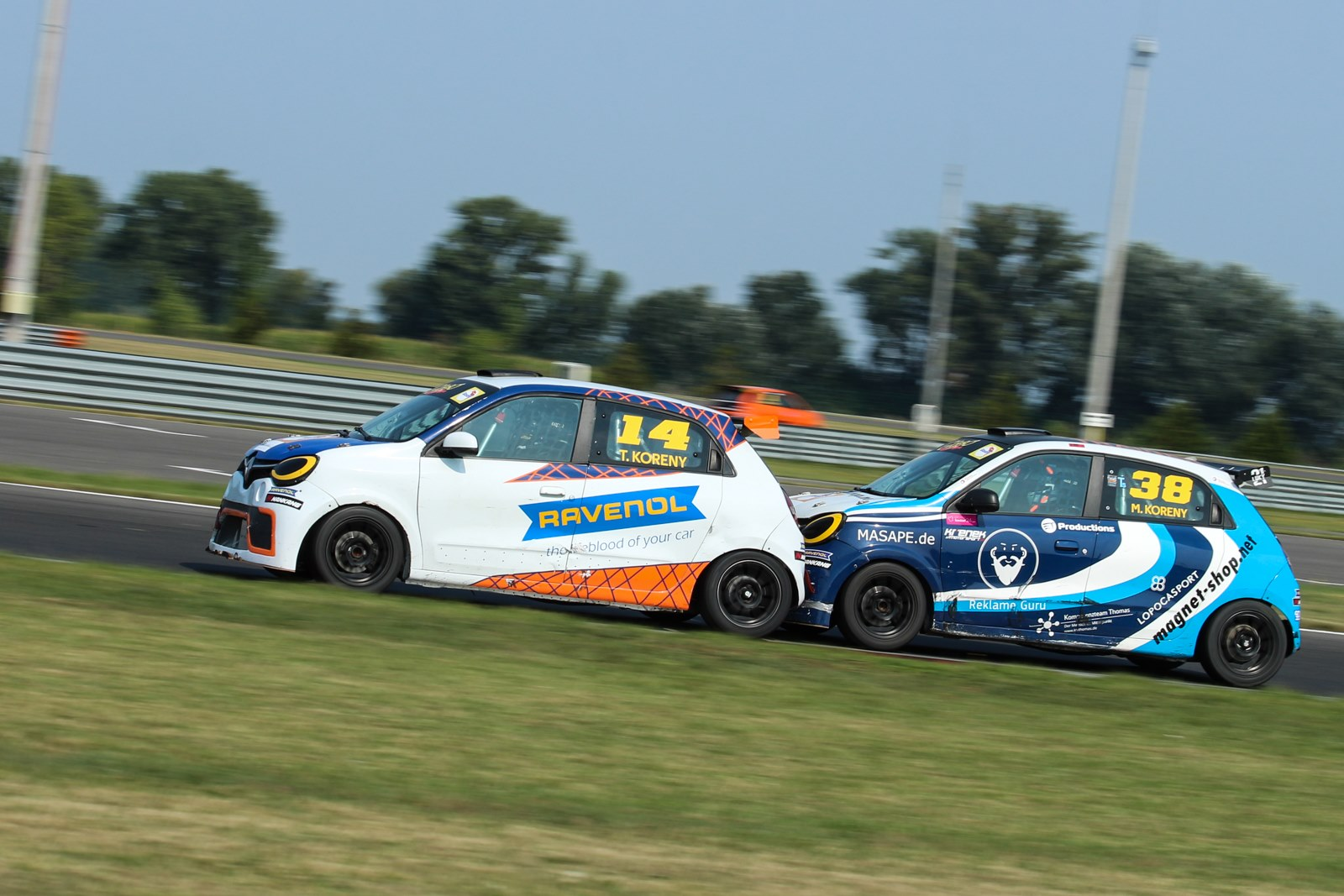 Matěj Korený takes his first win in Twingo Cup
