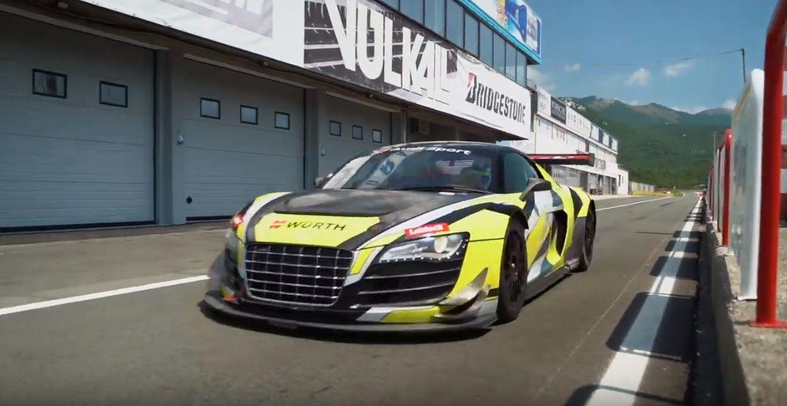 Matthias Lodi bude poprvé závodit s Audi R8 GT3