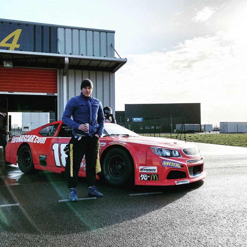Dernovšek uspěl v náborovém programu do evropských NASCAR