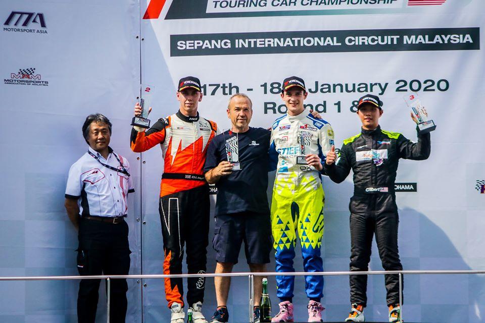 Účastníci ESET V4 Cupu zazářili v úvodním podniku TCR Malajsie