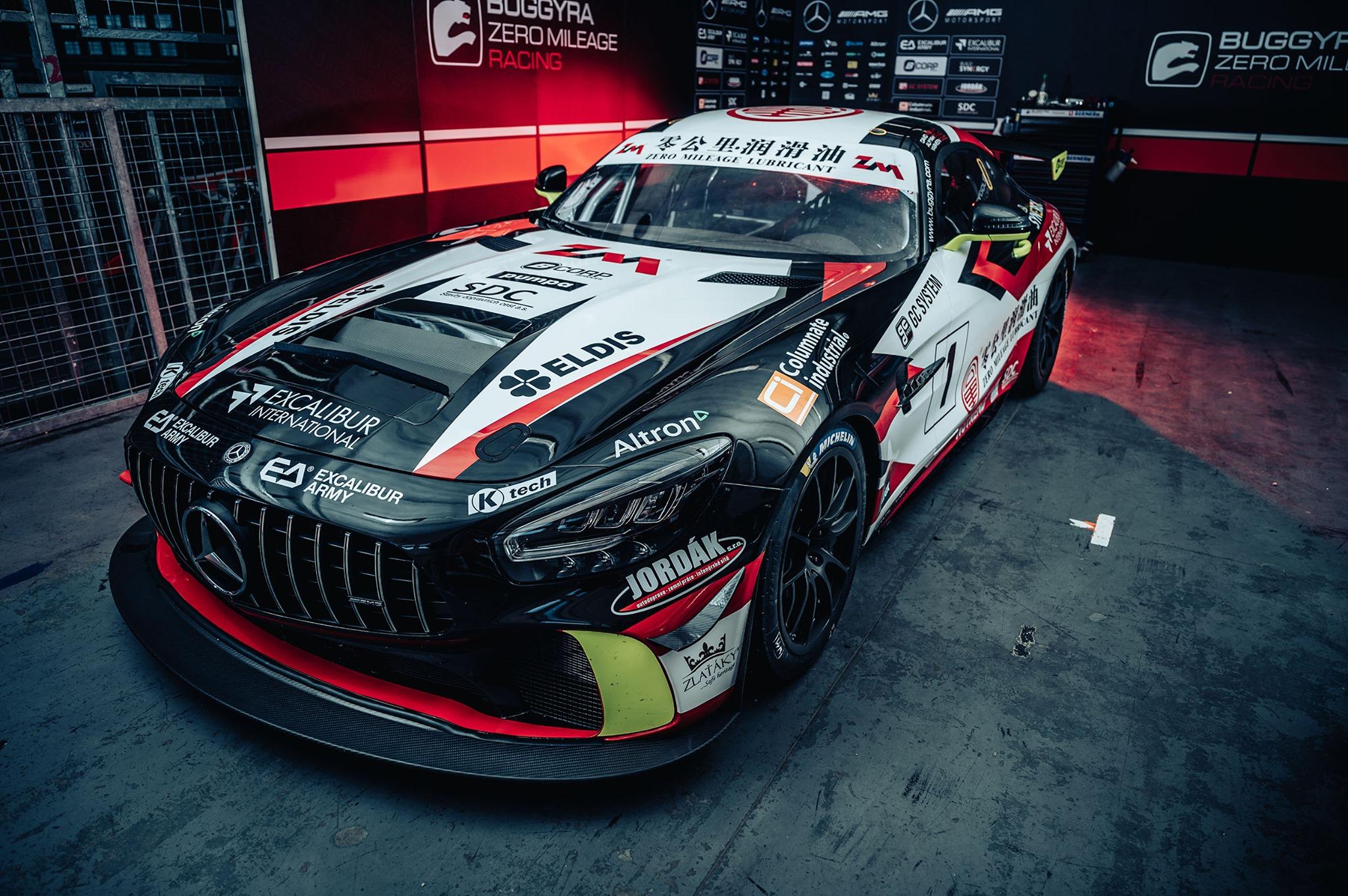 Buggyra rozšíří startovní pole třídy GT4