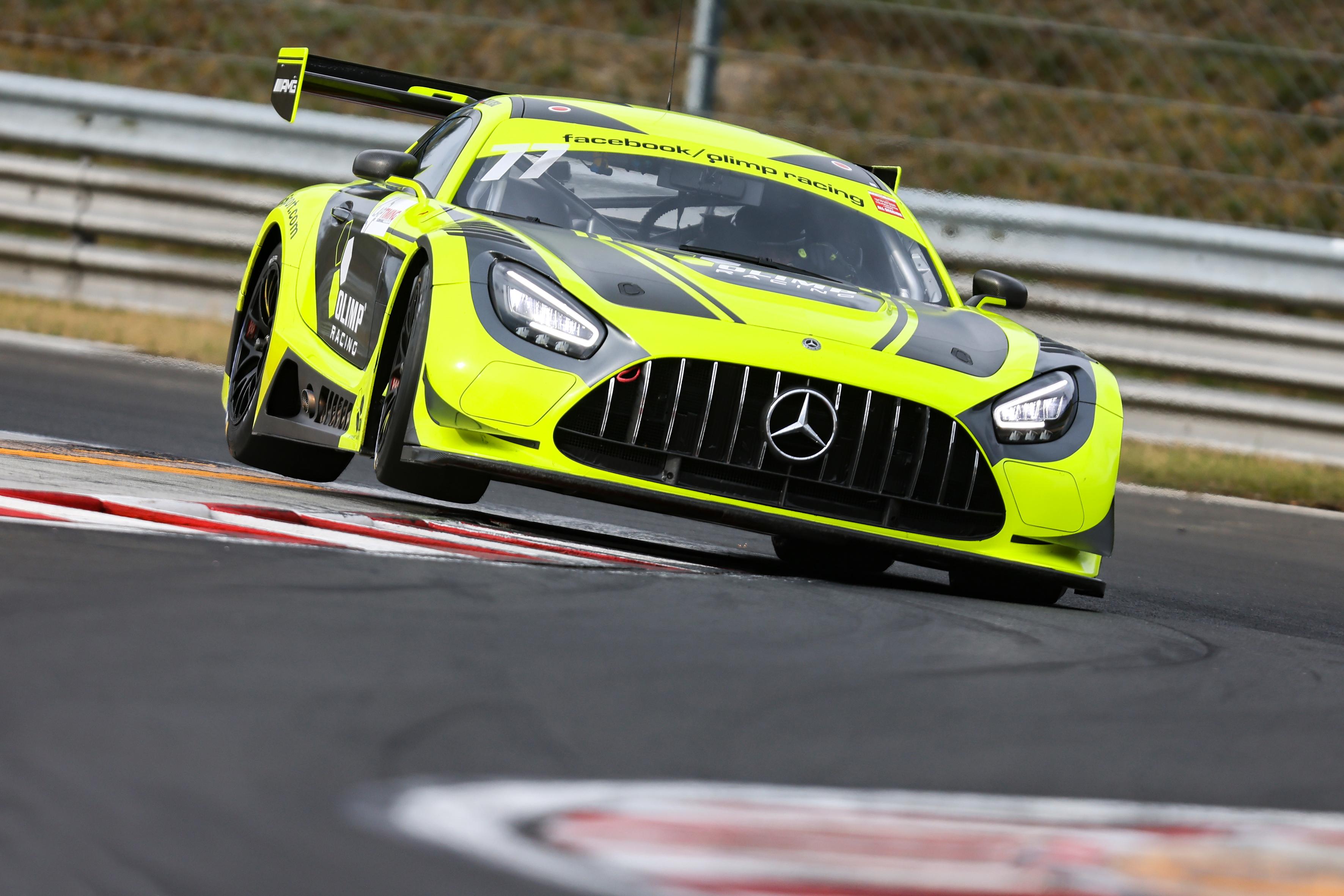Jedlinski already became GT sprint champion