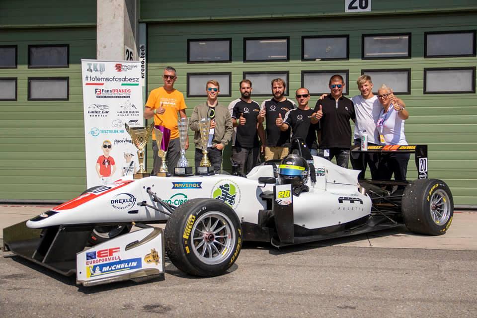 Berta becomes Formula champion
